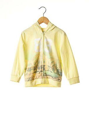 Veste casual jaune MAYORAL pour fille