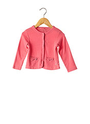 Veste casual rose WEEK END A LA MER pour fille seconde vue
