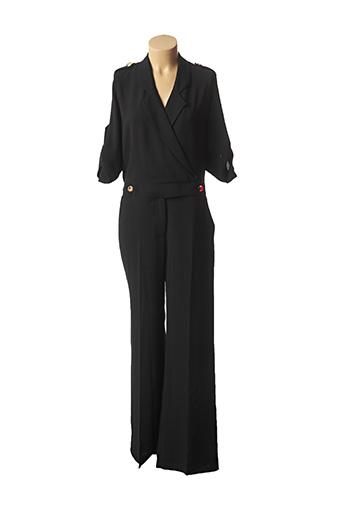 Combi-pantalon noir LADY LOL pour femme