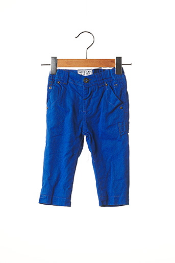 Pantalon casual bleu WEEK END A LA MER pour garçon