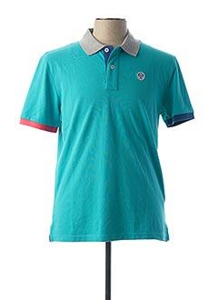 Polo manches courtes bleu NORTH SAILS pour homme
