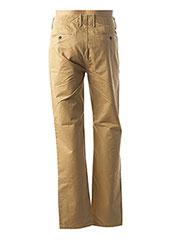 Pantalon casual beige MUSTO pour homme seconde vue