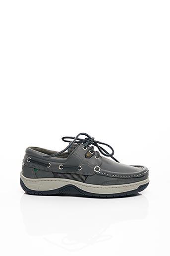 Chaussures bâteau gris DUBARRY pour homme