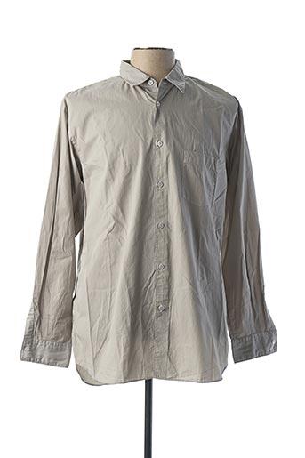 Chemise manches longues gris COMME DES GARCONS pour homme