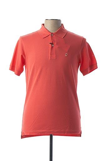 Polo manches courtes orange PAUL SMITH pour homme
