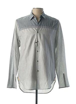 Chemise manches longues gris PAUL SMITH pour homme