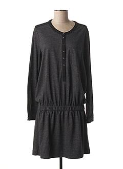 Robe mi-longue gris BURBERRY pour femme