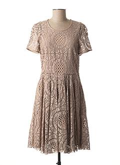 Robe mi-longue rose BURBERRY pour femme