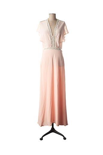 Robe longue rose PAUL & JOE pour femme