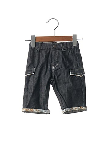 Jeans coupe droite noir BURBERRY pour garçon
