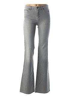 Jeans bootcut gris SEE BY CHLOÉ pour femme