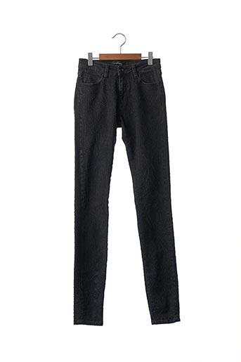 Jeans skinny noir BROCKENBOW pour femme