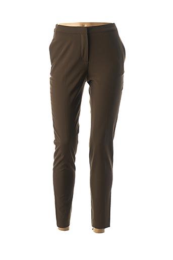 Pantalon 7/8 marron PAUL SMITH pour femme