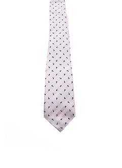 Cravate rose KENZO pour homme