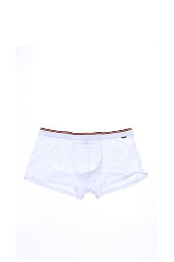 Shorty/Boxer blanc PAUL SMITH pour homme