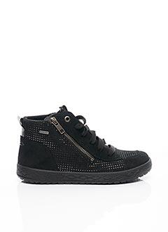 Baskets noir SUPER FIT pour fille