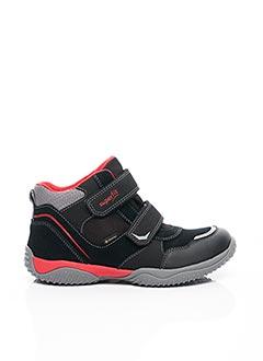 Baskets noir SUPER FIT pour garçon