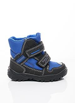 Bottines/Boots bleu SUPER FIT pour garçon
