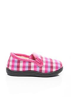 Chaussons/Pantoufles rose ROAL pour fille