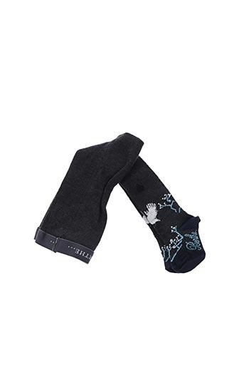 Collants gris BERTHE AUX GRANDS PIEDS pour fille