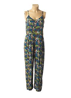 Combi-pantalon vert NICE THINGS pour femme