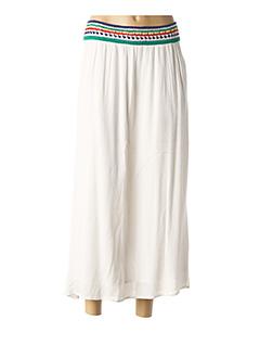 Jupe longue beige IKKS pour femme