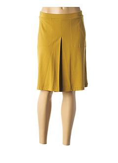 Jupe mi-longue jaune NICE THINGS pour femme