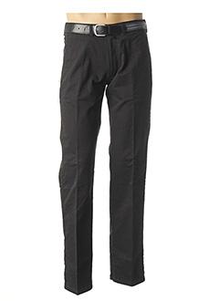 Pantalon casual noir PIONIER pour homme