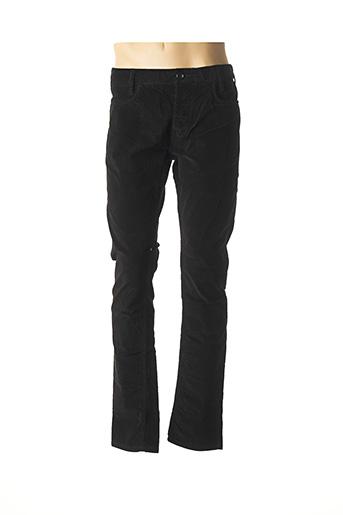 Pantalon casual noir CHEVIGNON pour homme