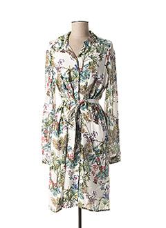 Robe mi-longue blanc ZAPA pour femme