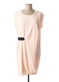 Robe mi-longue rose IKKS pour femme