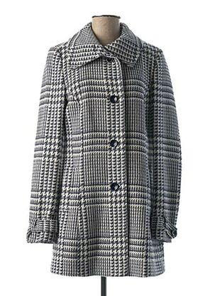 Manteau long bleu DANIEL HECHTER pour femme