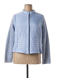 Veste casual bleu 7 SEASONS pour femme