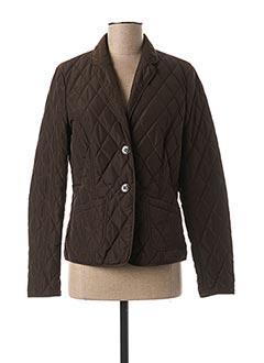 Veste casual marron DANIEL HECHTER pour femme