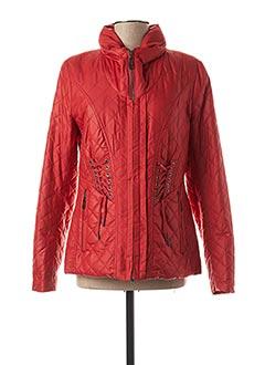 Veste casual rouge CREENSTONE pour femme