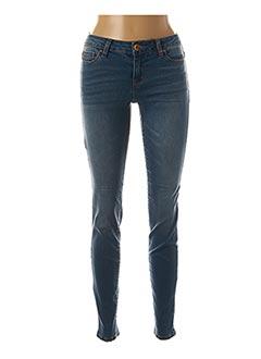 Jeans coupe slim bleu PAKO LITTO pour femme