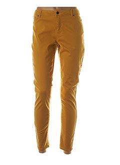 Pantalon 7/8 jaune VERO MODA pour femme