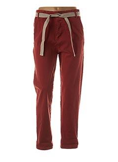 Pantalon casual orange PAKO LITTO pour femme