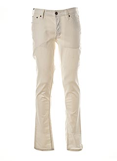 Pantalon casual blanc JACK & JONES pour homme