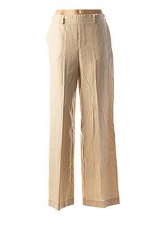 Pantalon casual beige IMPERIAL pour femme