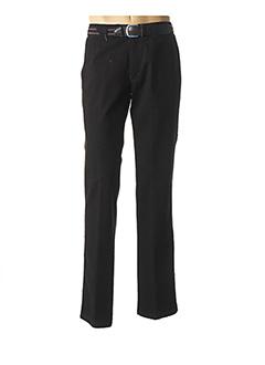 Pantalon casual noir LUIGI MORINI pour homme