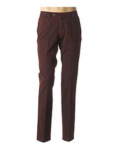 Pantalon casual rouge LUIGI MORINI pour homme
