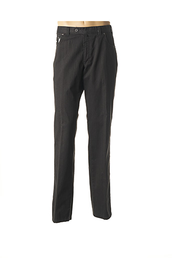 Pantalon casual gris LUIGI MORINI pour homme