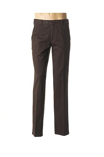 Pantalon casual marron LUIGI MORINI pour homme
