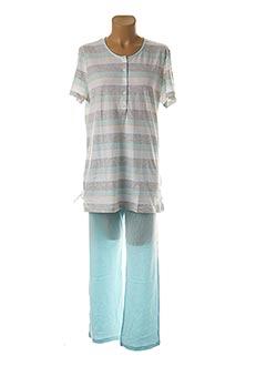 Pyjama bleu TRIUMPH pour femme