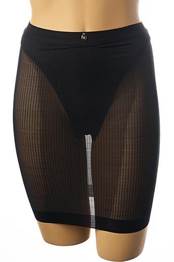 Jupon /Fond de robe noir TRIUMPH pour femme