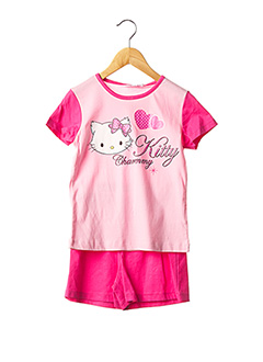 Pyjama rose CHARMMY KITTY pour fille