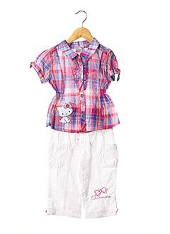 Top/pantalon rose CHARMMY KITTY pour fille