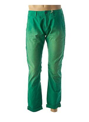 Pantalon casual vert SCOTCH & SODA pour homme