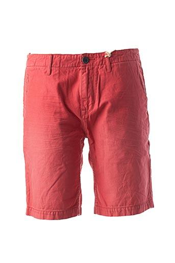 Short rouge SCOTCH & SODA pour homme